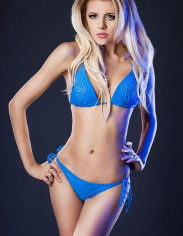 Elegant Blonde Escort Girl Maria in Turkey